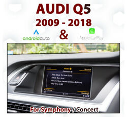 [touch] Audi Q5 2009-17 Touch Overlay Apple Carplay And Android Auto Integration