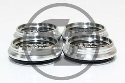 Rays Volk Gt-2 Low Type Aluminum Center Caps For Re30 Ce28n 16-18 Inch