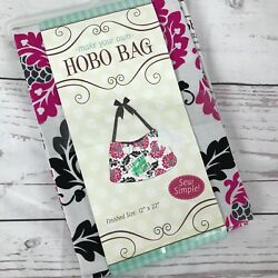 Brother Sister Design Make Your Own Hobo Bag Sewing Project Fabric Gift Stocking