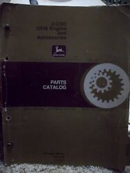 John Deere Parts Catalog 6329d Oem Engine And Accessories Pc1418 R57037