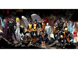 Angel Jean Cyclops Iceman All New X-men 1 Marvel Comic Book Cover Art On Canvas