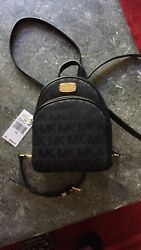 $248 Michael Kors ABBEY Backpack MK Handbag Designer Bag NEW
