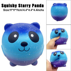 Anti Stress Squishy Cute Starry Panda Teddy Doll Cream Scented Slow Rise Toy