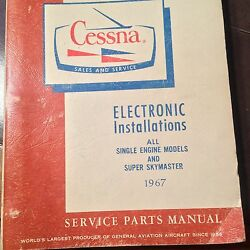 Factory Wiring Book 1967 All Cessna Single Engine And Superskymaster