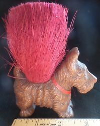 Vintage Scottish Terrier brush