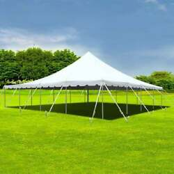 40x40' Sectional Pole Tent Outdoor Event Party Wedding Commercial White Canopy