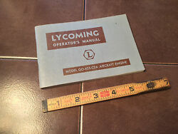 Lycoming Go-435-c2a Engine Operating Manual