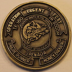 160th Soar / Tf 160 Night Stalkers Special Forces Tier-1 Army Challenge Coin