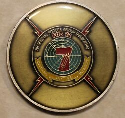 7th Special Forces Group Airborne Oef Fob-72 Green Beret Army Challenge Coin
