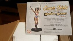Cover Girls Of The Dc Universe Wonder Women Statue 150 Great Condition