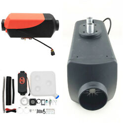 Remote Wireless ONOFF 12V 5000W LCD Monitor Air diesel Fuel Heater 39*14*15cm