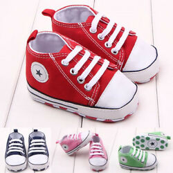 Cute Black Infant Boy Sneakers Shoes Booties Boots Walking Shoes Soft Sole Crib $8.99
