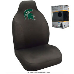 New Ncaa University Of Michigan State Spartans Car Truck Front Seat Cover