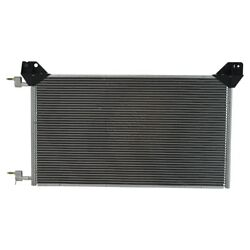 Ac A/c Condenser For 2002 Cadillac Escalade Ext Without Rear Air Conditioning