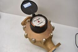 Omega Ftb 61115 Industrial Positive Displacement 1 1/2 Cold Water Meter