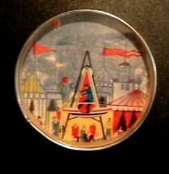 Vintage Dexterity Puzzle Game Circus Made In Federal Republic Of Germany