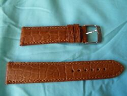 0 27 32in strap Alligator Real Honey Hand Made attaches Quick Top Quality