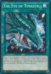 *** THE EYE OF TIMAEUS *** 3 AVAILABLE FIRST EDITION LEDD ENA21 YUGIOH