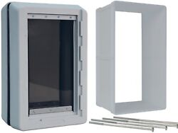 Ideal Pet Products Designer Series Ruff Weather Dog Door amp; WALL KIT ALL SIZES