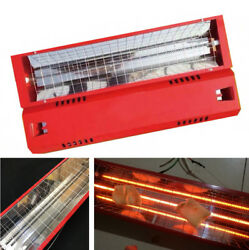 2 Sets Infrared Paint Curing Lamp Heating Light Heater 220V 1000W for Auto Car