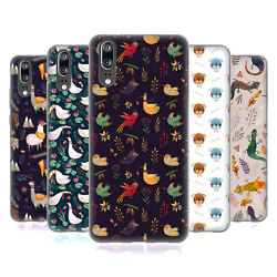 OFFICIAL OILIKKI ANIMAL PATTERNS SOFT GEL CASE FOR HUAWEI PHONES