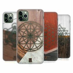 Head Case Geometric Wood Prints Gel Case And Wallpaper For Apple Iphone Phones