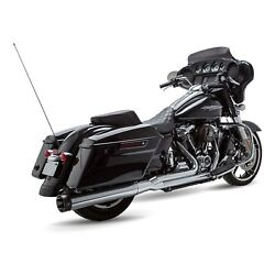 Sands Sidewinder Chrome 2 Into 1 Full System Exhaust Harley M8 Fl 17-19
