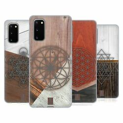 Head Case Geometric Wood Prints Soft Gel Case And Wallpaper For Samsung Phones 1