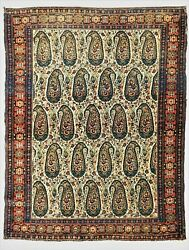 Antique Senneh Rug. 3and0397x 4and0399