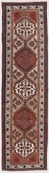 Genuine Hand Knotted Authentic Antique Runner Rug. 3and039x 10and03910