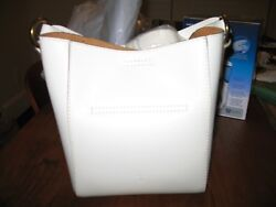 NWT Frye Harness Leather Bucket Crossbody Bag  OFF WHITE