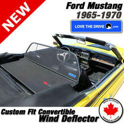 Love The Drive Convertible Wind Deflector For 1965-1970 1969 1968 Ford Mustang