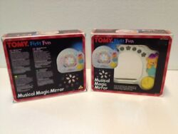 New In Box 80and039s Vintage Retro Tomy Musical Magic Mirror. Toy 80and039s Collectible
