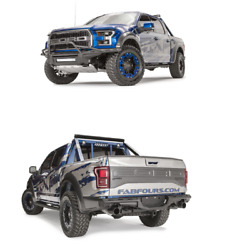 Fab Fours Ff17-d4372-1 Ff17-e4371-1 Aero Front/ Rearbumpers 17-20 Ford Raptor