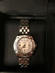 Breitling Stainless Galactic 32/ Cockpit Lady Pilot Diamond Dial