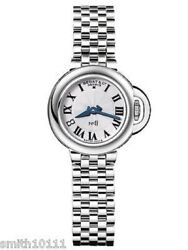 Bedat And Co No 8 Silver Dial Ladies Stainless Steel Watch
