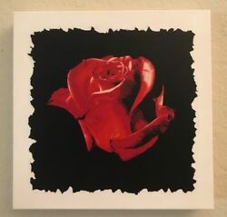 ROSE Painting - Rose Flower Stencil Painting  - Stencil Art - Rose - POP ART
