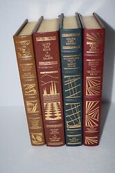Lot Of 4 Books - Franklin Library - All Signed First Edition