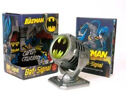 Metal Die Cast Bat Signal [new ] Boxed Set Hardcover Toy