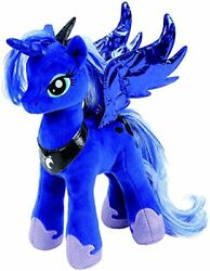 TY My Little Pony 41183 Princess Luna Sparkle Beanie Babies Collection 9quot; NEW