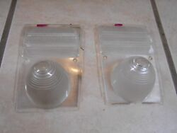 Vintage Car Or Truck Signal Park Reverse Light Lens 1950's 1960's Chevy Ford