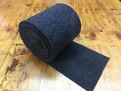12 Oz Bunk Marine Carpet / Boat Trailer - Charcoal - 9 X 50and039 - Runners/outdoor
