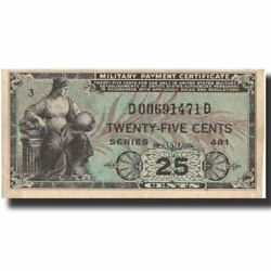 [572234] Banknote United States 25 Cents Undated 1951 Undated Kmm24a