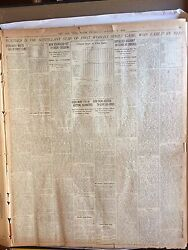 The New York Times October 2-12 1919 World Series Black Sox Scandal -rare