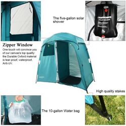 Campsite Shower Tent Changing Room Shelter Bath Carry Bag Camping Beach Pop Up
