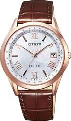 2018  NEW Citizen Watch EXCEED Eco Drive Radio Controlled Watch CB1112-07W Men's