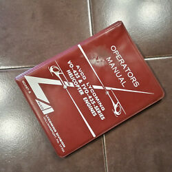 Lycoming Vo-435 And Tvo-435 Helicopter Engine Operatorand039s Manual