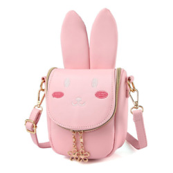 My First Purse For Toddler Kids Girls Cute Shoulder Bag Messenger Bags With Bunn
