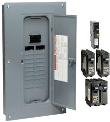 Load Center 100 Amp 20-space 40-circuit Indoor Main Breaker Plug-on Neutral