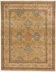 Hand Knotted Antique Revival India Rugs. 8'x 10'